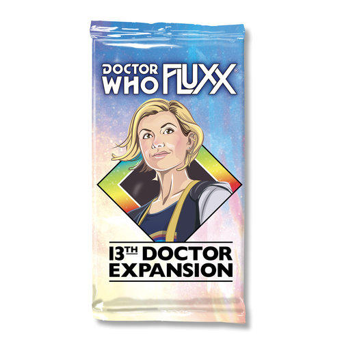 Looney Labs FLUXX: DOCTOR WHO 13TH DOCTOR EXPANSION