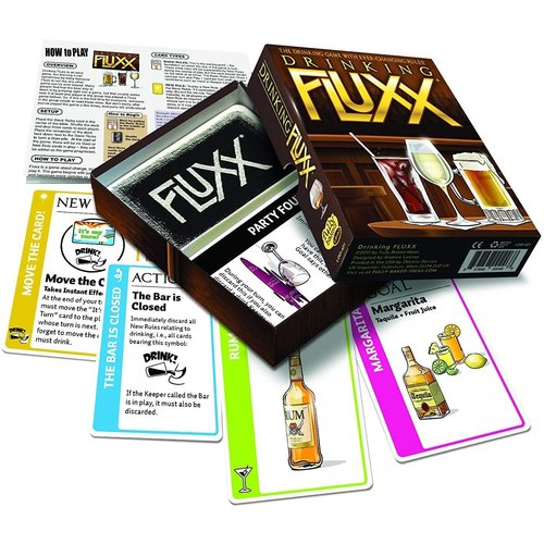 Fully Baked Ideas (Looney Labs) FLUXX: DRINKING CARD GAME