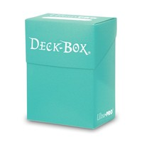 DECK BOX: SOLID AQUA