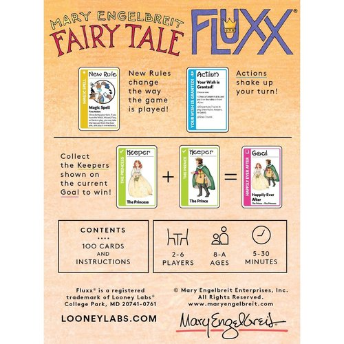Looney Labs FLUXX: FAIRY TALE CARD GAME