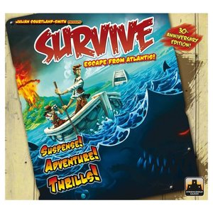 Stronghold Games SURVIVE: ESCAPE FROM ATLANTIS - 30TH ANNIVERSARY EDITION