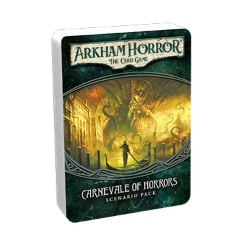 Fantasy Flight Games ARKHAM HORROR LCG: CARNEVALE OF HORRORS SCENARIO PACK