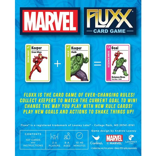 Looney Labs FLUXX: MARVEL CARD GAME SPECIALTY EDITION