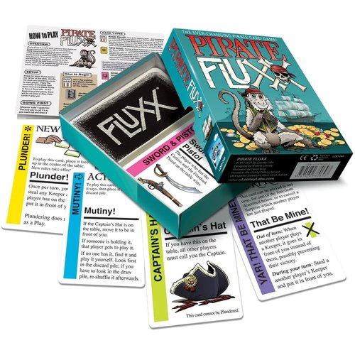Looney Labs FLUXX: PIRATE CARD GAME