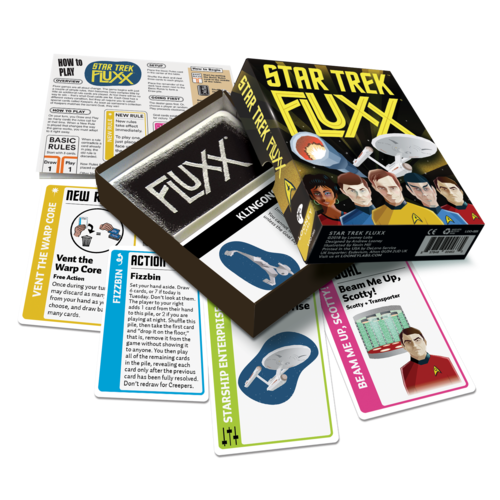 Looney Labs FLUXX: STAR TREK (THE ORIGINAL SERIES) CARD GAME