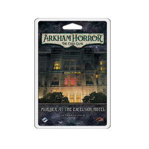 Fantasy Flight Games ARKHAM HORROR LCG: MURDER AT THE EXCELSIOR HOTEL SCENARIO PACK