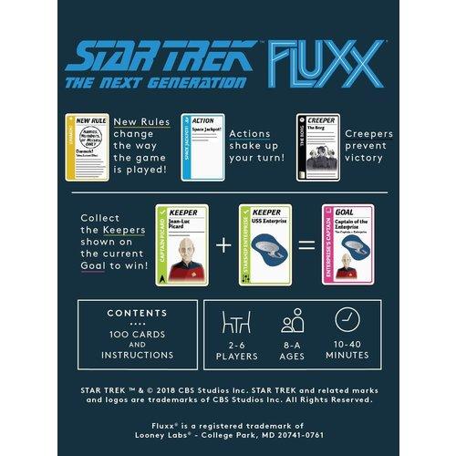 Looney Labs FLUXX: STAR TREK - THE NEXT GENERATION CARD GAME