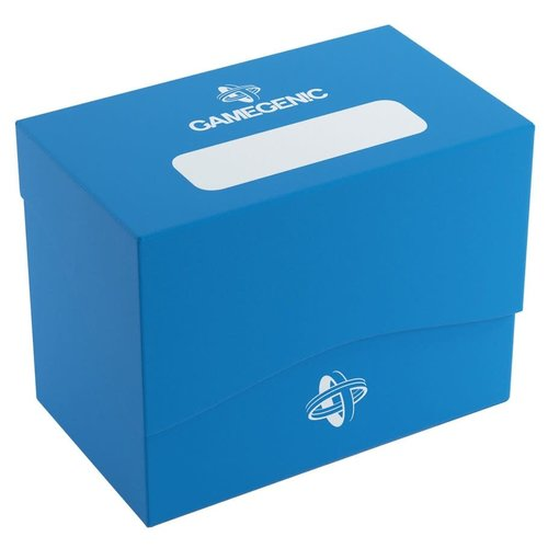 GAMEGENIC DECK BOX: SIDE HOLDER 80+ BLUE