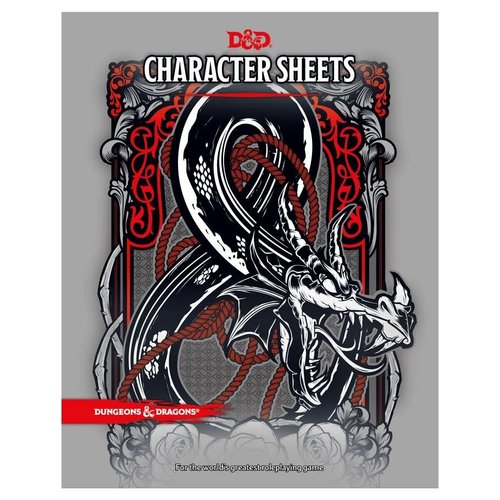 Wizards of the Coast D&D 5E: CHARACTER SHEETS