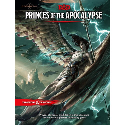 Wizards of the Coast D&D 5E: ELEMENTAL EVIL - PRINCES OF THE APOCALYPSE