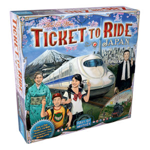Days of Wonder TICKET TO RIDE: JAPAN & ITALY MAP COLLECTION 7