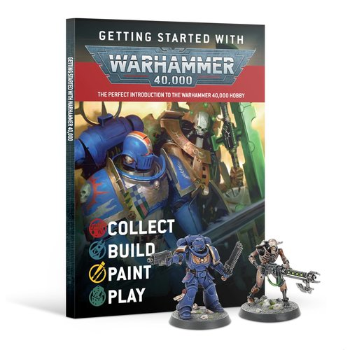 Games Workshop GETTING STARTED: WARHAMMER 40K