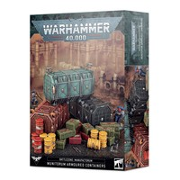 40K MUNITORUM ARMOURED CONTAINERS