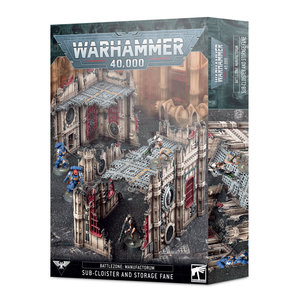 Games Workshop 40K SUB-CLOISTERS & STORAGE FANE