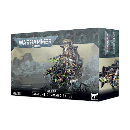 Games Workshop NECRONS CATACOMB COMMAND BARGE