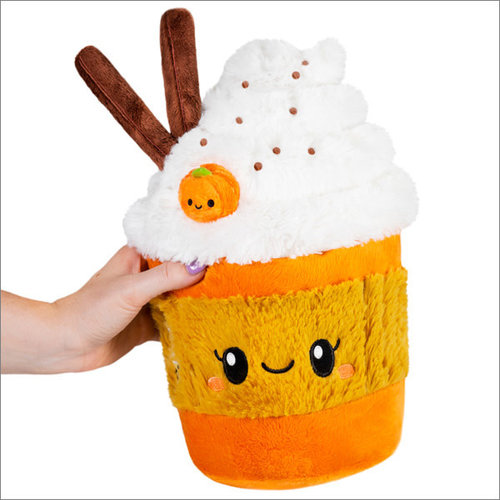 "SQUISHABLE SQUISHABLE 7"" PUMPKIN SPICE LATTE"