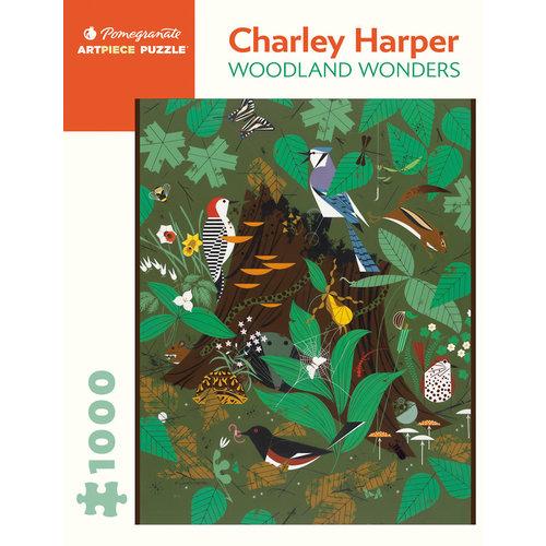 POMEGRANATE PM1000 CHARLEY HARPER - WOODLAND WONDERS