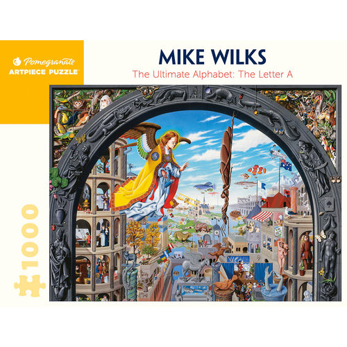 POMEGRANATE PM1000 MIKE WILKS - ULTIMATE ALPHABET LETTER A