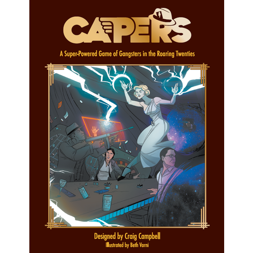 Evil Hat Productions CAPERS (HARD COVER)