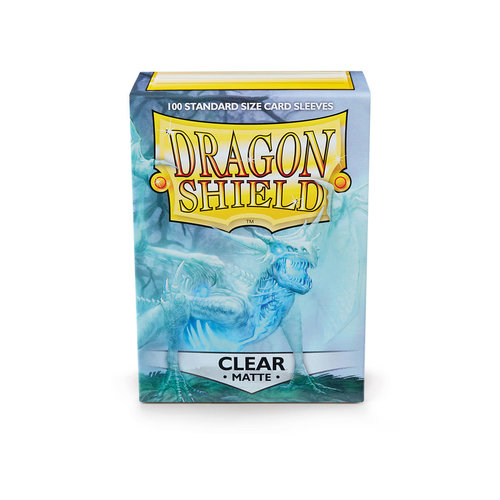 Arcane Tinmen DECK PROTECTOR: DRAGON SHIELDS: MATTE CLEAR (100)