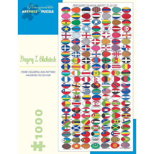 POMEGRANATE PM1000 GREGORY L. BLACKSTOCK - MORE COLORFUL EGG PATTERN FAVORITES TO GO FOR