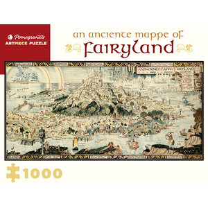 POMEGRANATE PM1000 SLEIGH - ANCIENT MAPPE OF FAIRYLAND