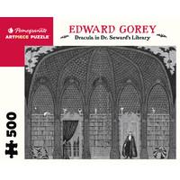 PM500 GOREY - DRACULA IN SEWARD'S LIBRARY