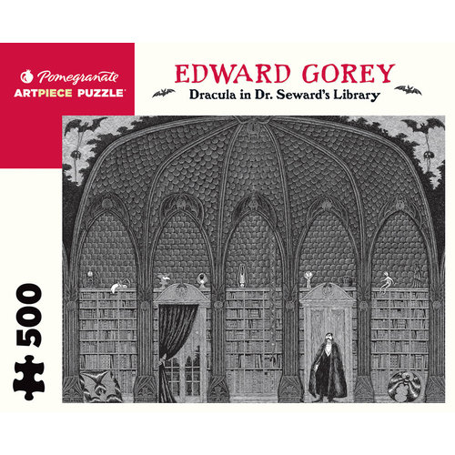 POMEGRANATE PM500 EDWARD GOREY - DRACULA IN DR. SEWARD'S LIBRARY