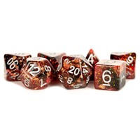 DICE SET 7 ETERNAL RESIN: FIRE