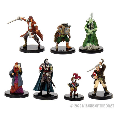 Wizkids MINIS: D&D: ICONS OF THE REALMS - LEGENDS OF BAROVIA PACK