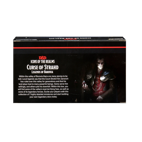 Wizkids MINIS: D&D: ICON OF THE REALMS - LEGENDS OF BAROVIA PACK