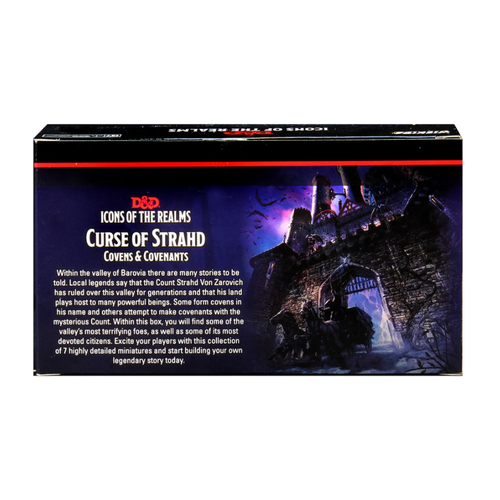 Wizkids MINIS: D&D: ICONS OF THE REALMS - CURSE OF STRAHD COVENS & COVENANTS PACK