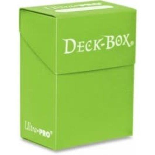 Ultra Pro International DECK BOX: SOLID LIGHT GREEN