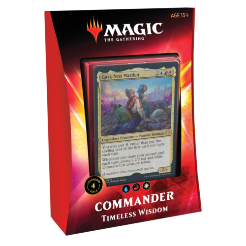 Wizards of the Coast MTG: IKORIA - TIMELESS WISDOM - COMMANDER DECK