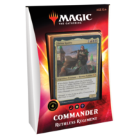 MTG: IKORIA - RUTHLESS REGIMENT - COMMANDER DECK
