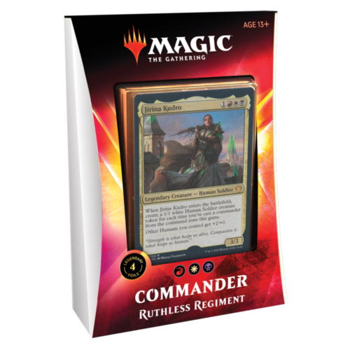 Wizards of the Coast MTG: IKORIA - RUTHLESS REGIMENT - COMMANDER DECK
