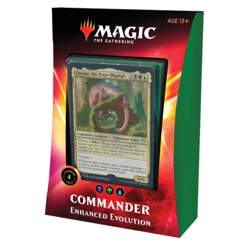 Wizards of the Coast MTG: IKORIA - ENHANCED EVOLUTION - COMMANDER DECK