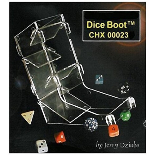 Chessex DICE BOOT Dice Tower, Plastic