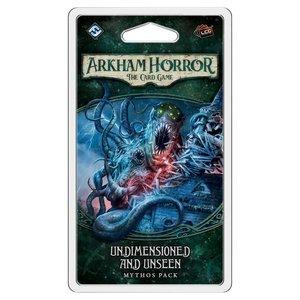 Fantasy Flight Games ARKHAM HORROR LCG: UNDIMENSIONED & UNSEEN MYTHOS PACK