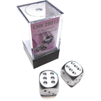 DICE PAIR 16mm ALUMINUM PLATED