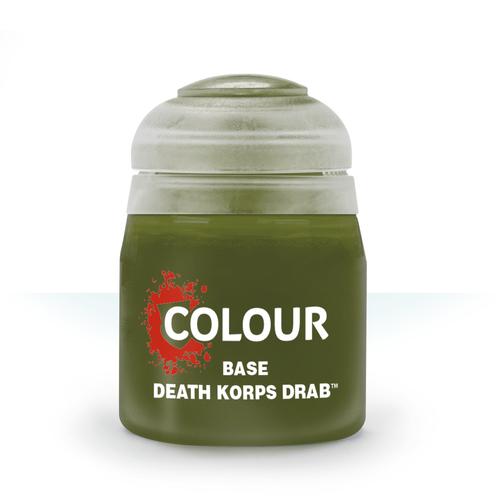 Games Workshop CITADEL (BASE): DEATH KORPS DRAB