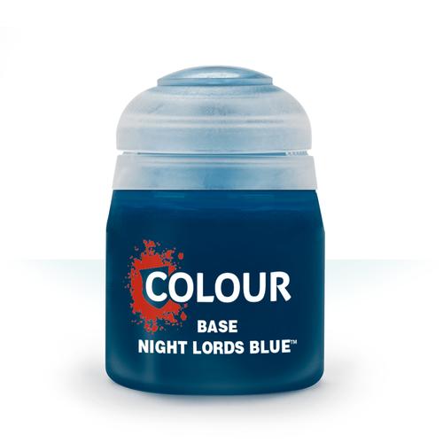 Games Workshop CITADEL (BASE): NIGHT LORDS BLUE