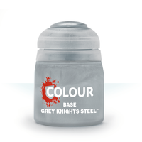 CITADEL PAINT (BASE): GREY KNIGHTS STEEL