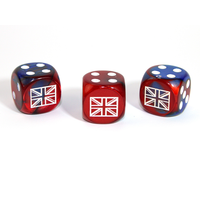 CUSTOM D6 16mm AXIS & ALLIES UNITED KINGDOM