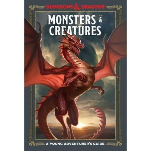 PENGUIN RANDOM HOUSE D&D 5E: A YOUNG ADVENTURER'S GUIDE: MONSTERS & CREATURES