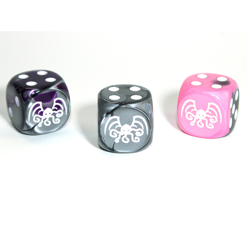 Chessex CUSTOM D6 16mm CTHULHU (Assorted Colors)