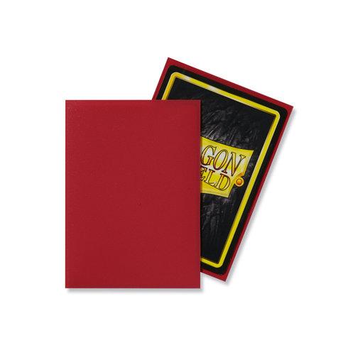 Arcane Tinmen DECK PROTECTOR: DRAGON SHIELDS: MATTE RED (100)