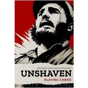 Piatnik UNSHAVEN : Beards and Moustaches Playing Cards