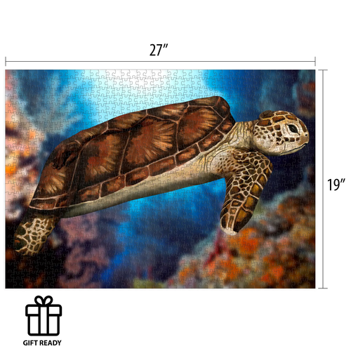 Funwares FW1000 STOTTER - FINE ART BODY PAINTING SEA TURTLE