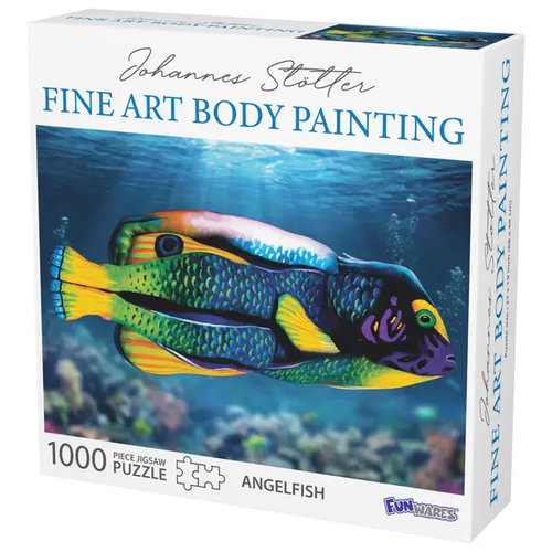 Funwares FW1000 STOTTER - FINE ART BODY PAINTING ANGEL FISH